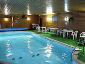 The 54 foot indoor swimming pool at The Ranch Leisure Centre