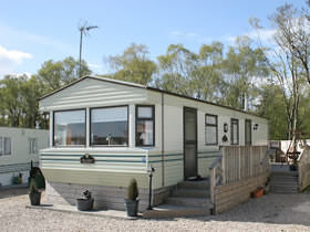 Static Caravan at The Ranch Holiday Park, Maybole